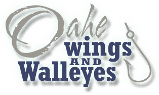 Oahe Wings & Walleyes Logo
