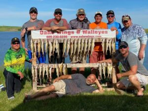 Lake Oahe Walleye Fishing Guide & Resort